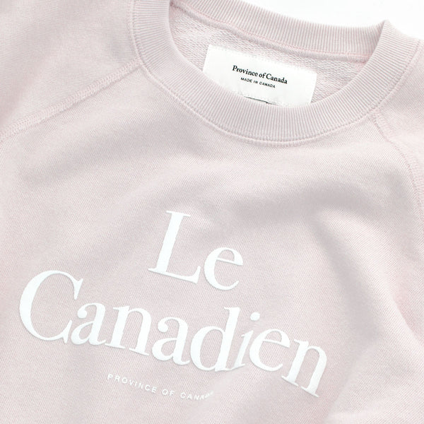 Le Canadien Crewneck Sweater Champagne - Mens - Province of Canada