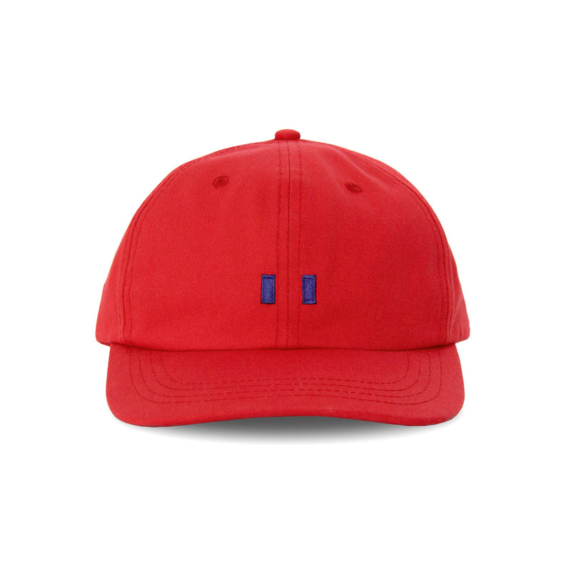 Made in Canada Flag Cotton Baseball Hat Cherry - Province of Canada
