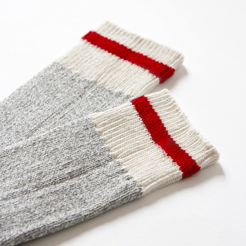 Province of Canada - Made in Canada - Classic Red Stripe Cotton Sock