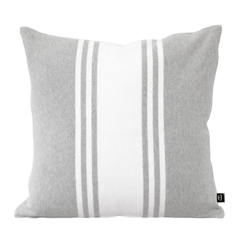 Rosseau Cushion Ash and White
