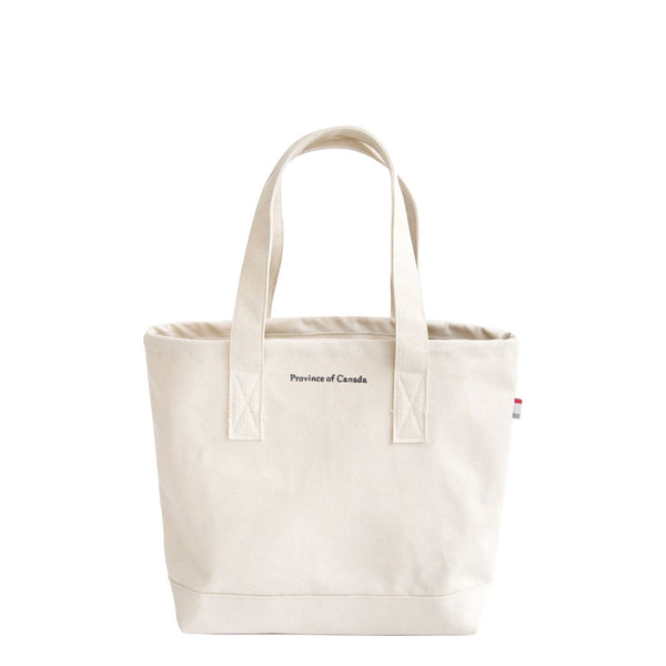 Small Tote Bag Natural - Made in Canada - Province of Canada