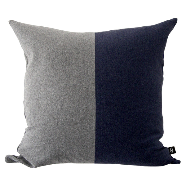 Soma Cushion Grey and Navy - Province of Canada