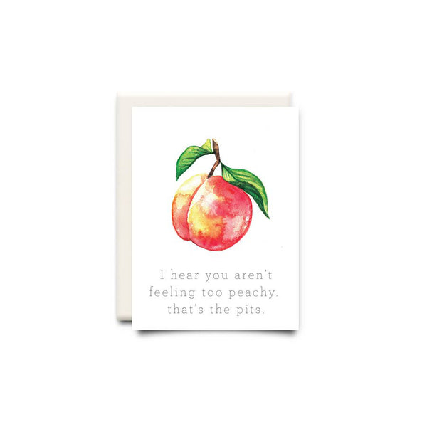 The Pits Encouragement Greeting Card - Made in Canada - Province of Canada
