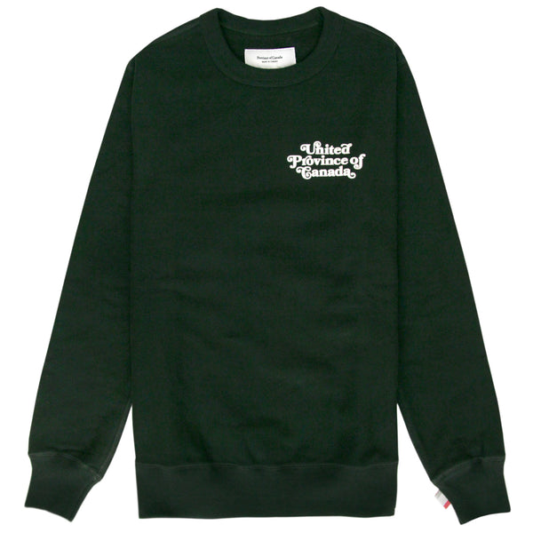 United Fleece Sweatshirt Forest - Unisex