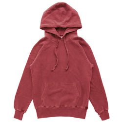Weekend Hoodie Washed Cranberry - Unisex