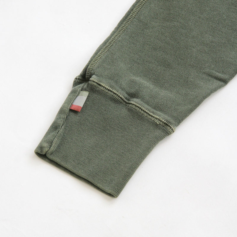 Weekend Sweatpants Garment Pigment Dyed Washed Olive Unisex - Made in Canada - Province of Canada