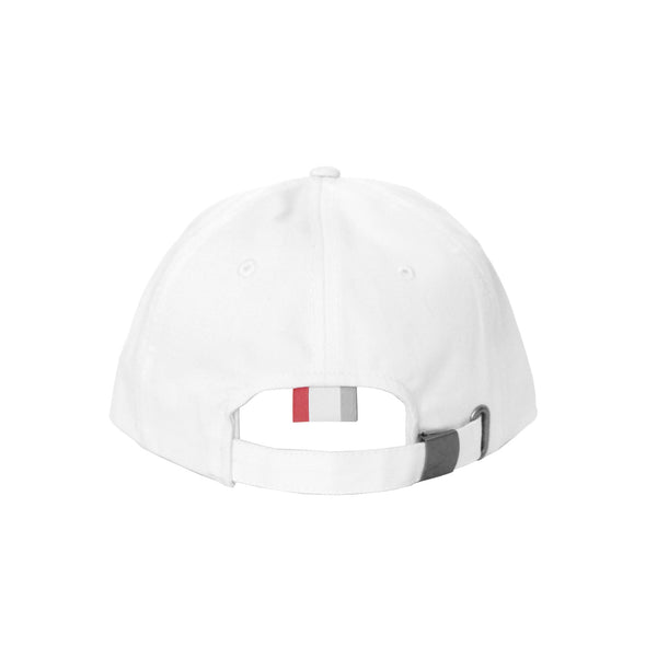 Made in Canada Flag Cotton Baseball Hat White - Province of Canada