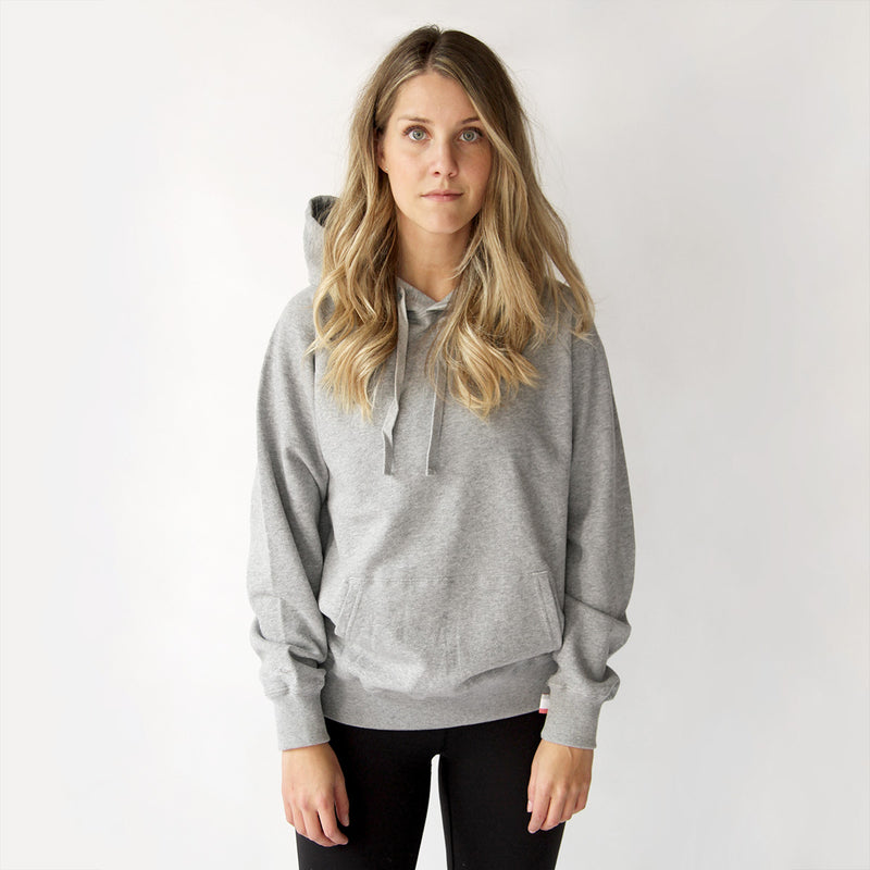 The Weekend Hoodie Heather Grey - Province of Canada - Made in Canada