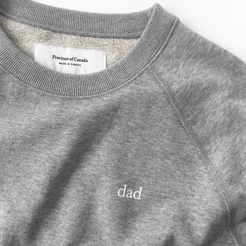 Province of Canada - Dad Crewneck Sweater - Made in Canada