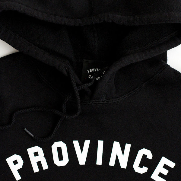 Province of Canada Black Hoodie Made in Canada