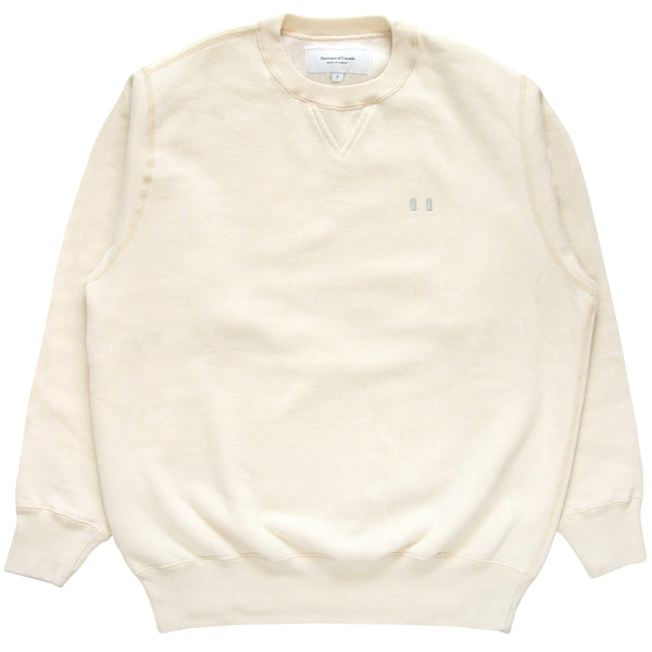 Province of Canada - Lounge Fleece Sweatshirt Cream - Made in Canada