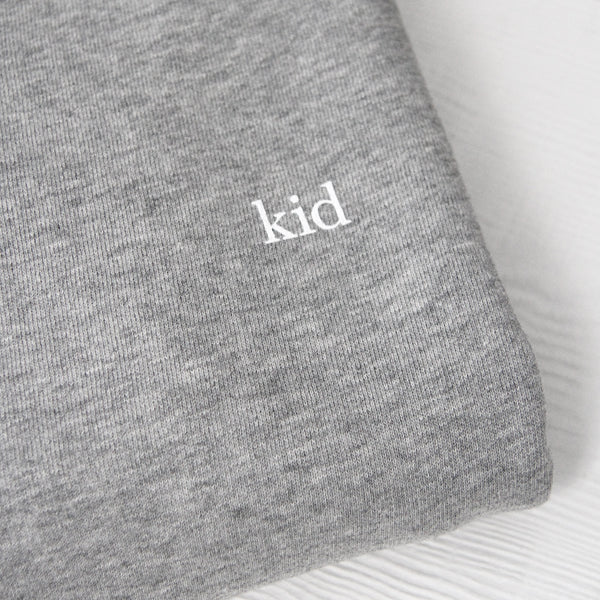 Kid Grown Up Sweatshirt Heather Grey - Unisex - Made in Canada