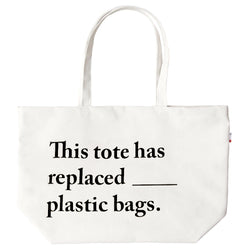 Plastic Free Tote - Made in Canada - Province of Canada