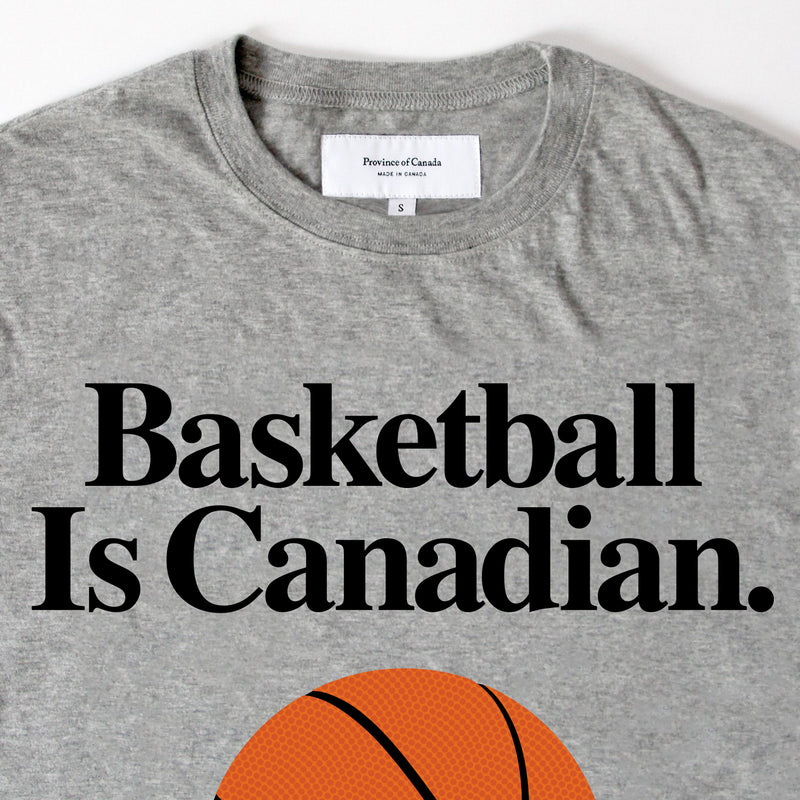 Province of Canada - Basketball is Canadian