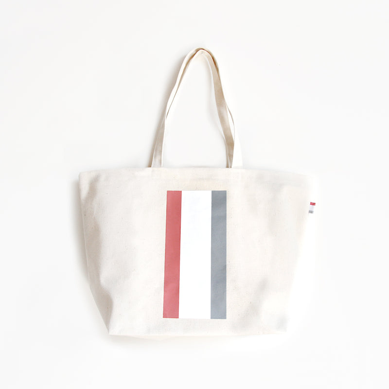 Province of Canada - Made in Canada - Stripe Canvas Cotton Tote