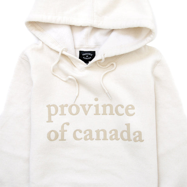 Province of Canada - Made in Canada - Lowercase Natural Women's Hoodie