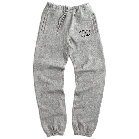 Province of Canada Heather Grey Sweatpants Made in Canada