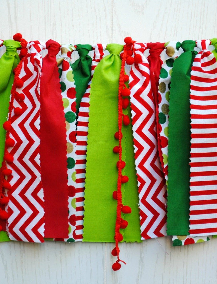 Holiday party buntings
