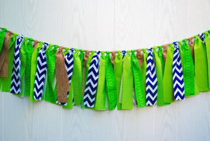 Alligator Fabric Bunting - FREE Shipping