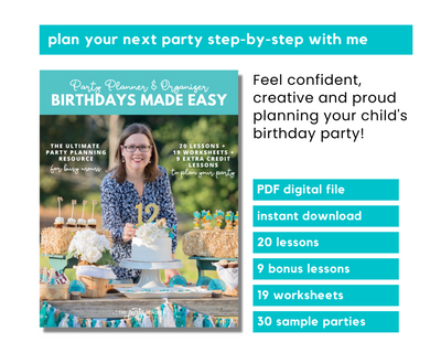 Birthdays Made Easy INSTANT DOWNLOAD