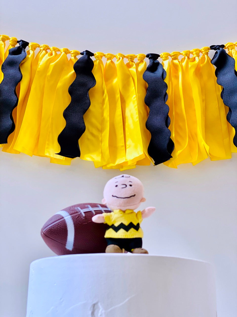 Charlie Brown Ribbon Bunting - FREE Shipping