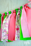 Pink Fairy Fabric Bunting - FREE Shipping