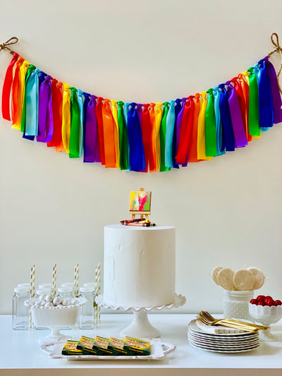 Art Ribbon Bunting - FREE Shipping