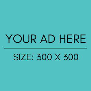 300 x 300px 3-Month Ad
