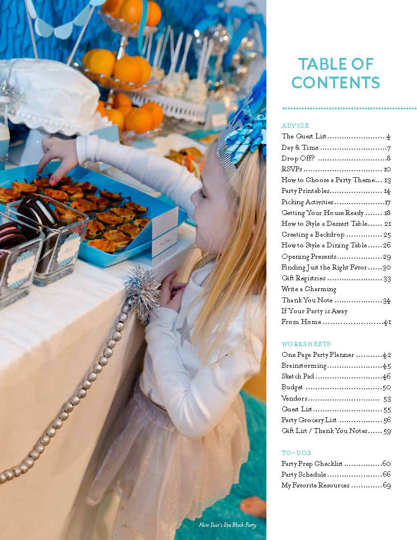 Birthday Party 101 eBook INSTANT DOWNLOAD - The Party Teacher