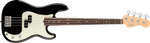 Fender American Pro Precision Bass®, Rosewood Fingerboard, Black - Texas Tour Gear