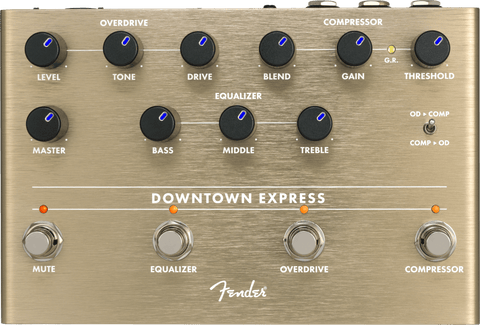 FENDER DOWNTOWN EXPRESS BASS MULTI-EFFECT PEDAL - Texas Tour Gear