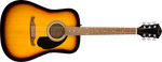 FA-125 Dreadnought, Walnut Fingerboard, Sunburst