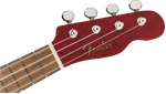 Fender Venice Soprano Uke, Walnut Fingerboard, Cherry - Texas Tour Gear