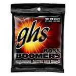 GHS Strings L3045 4-String Bass Boomers, Nickel-Plated Electric Bass Strings, Long Scale, Light (.040-.095) - Texas Tour Gear