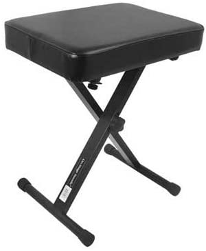 On Stage KT7800 Padded Keyboard Bench - Texas Tour Gear