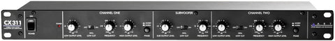 ART CX311 2-Way Crossover with Subwoofer Output - Texas Tour Gear