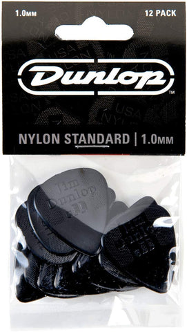 Dunlop Nylon Standard Guitar Pick 1.0 mm 12 Pack - Texas Tour Gear