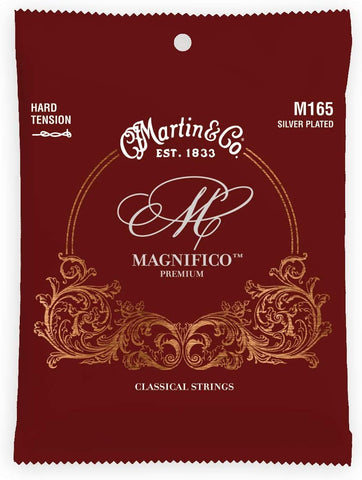 Martin Guitar Magnifico M165, Hard-Tension Tie End Classical Acoustic Guitar Strings - Texas Tour Gear