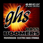 GHS Strings Electric Bass Boomer Set (Medium Light Nickel Steel, 4-String, Long Scale) - Texas Tour Gear