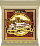 Ernie Ball Earthwood Medium Light 80/20 Bronze Acoustic Set, .012 - .054 - Texas Tour Gear