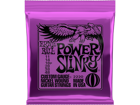 Ernie Ball Power Slinky Nickel Wound Set, .011 - .048 - Texas Tour Gear