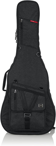 Transit Series Acoustic Guitar Gig Bag with Charcoal Exterior