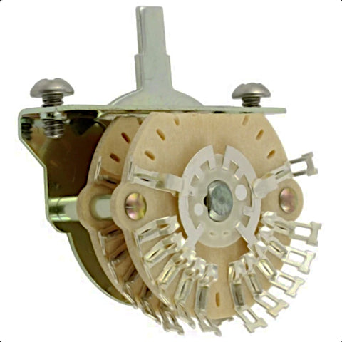 4-Pole 5-Way Selector Switch