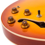 VSA500HB Semi Acoustic Guitar – Honeyburst