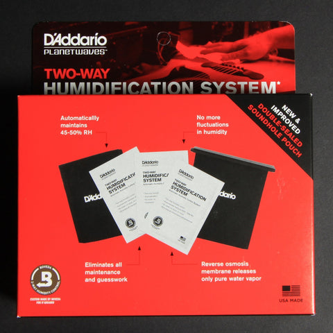 D'Addarío Two-Way Humidification System - Texas Tour Gear