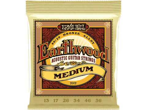 Ernie Ball Earthwood Medium 13-56 - Texas Tour Gear