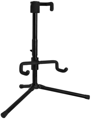 Push-Down Spring-Up Locking Electric Guitar Stand - Texas Tour Gear