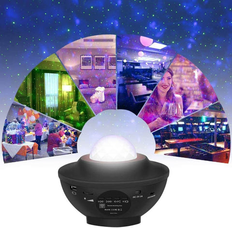 Super Real Galaxy Projector Light For Room Cloud Small Night Star Lamp