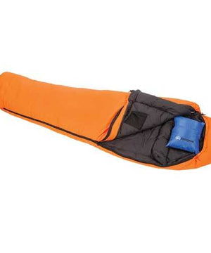 Snugpak Softie 15 Intrepid Sleeping Bag Orange LH Zip