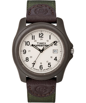 Timex Expedition Unisex Camper Brown/Olive Green [T49101]